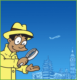 Be a Social Detective on Vacation