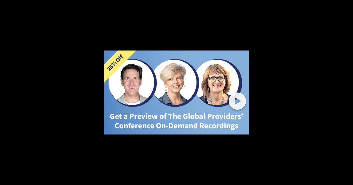 Providers Conference 25% off sale
