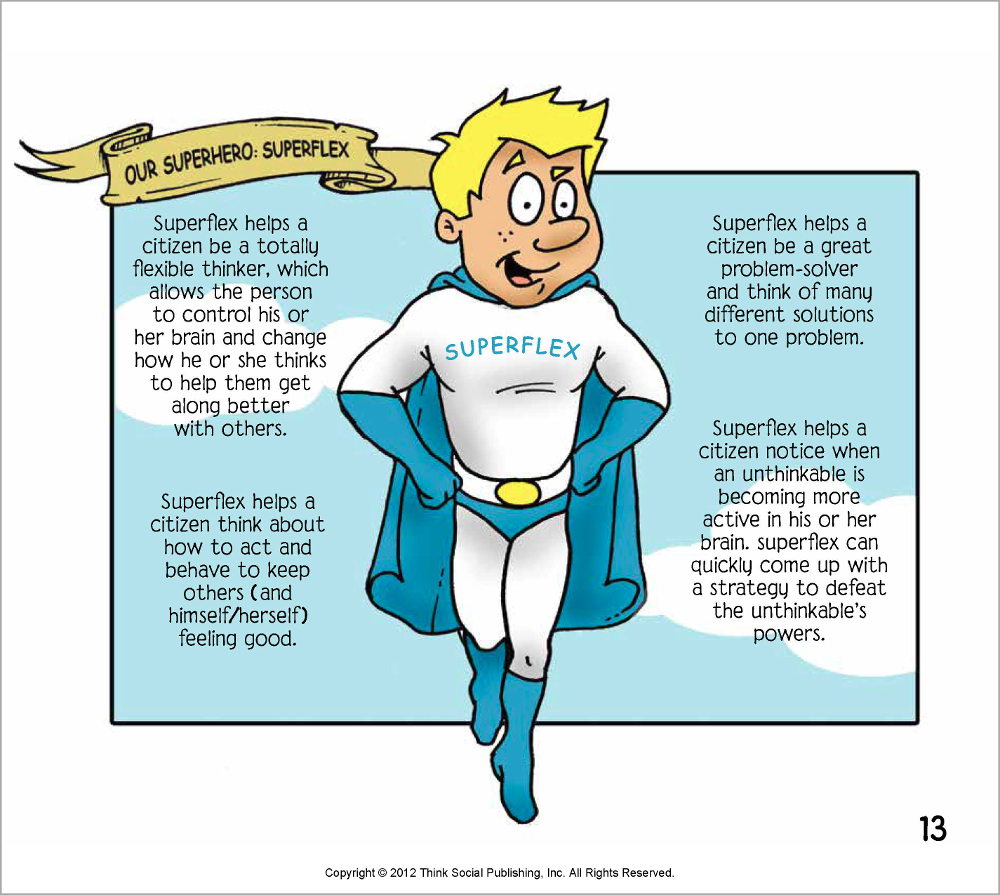 Socialthinking - Superflex Takes on Brain Eater and the Team of ...