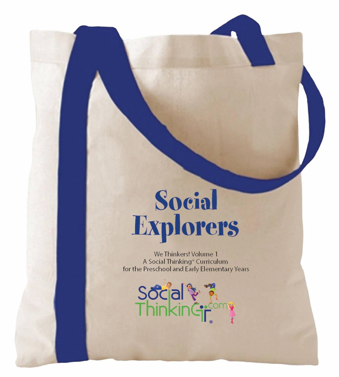 Social Explorers Tote Bag