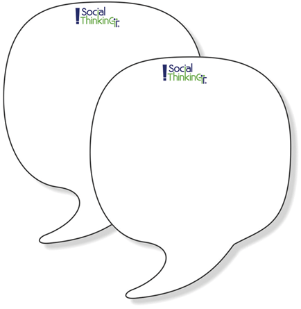 Twin Pack Speech Bubbles