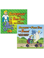 Superflex takes on Brain Eater and Superflex and Focus Tron to the Rescue Bundle
