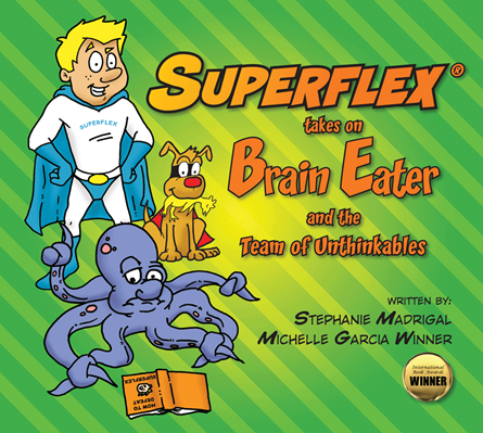 Superflex Takes on Brain Eater and the Team of Unthinkables