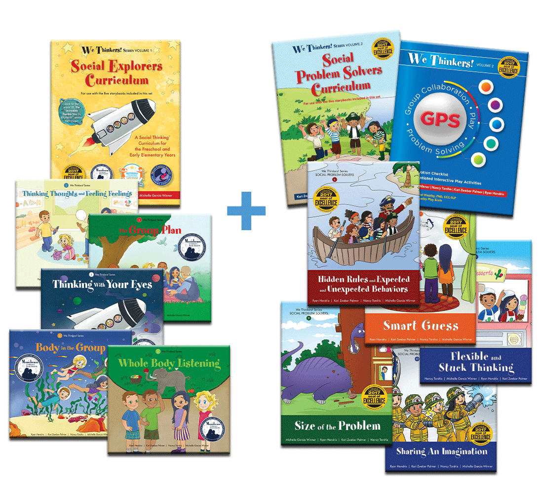We Thinkers! Volume 1 and 2 Curriculum Bundle: We Thinker! Social Explorers Curriculum and We Thinkers! Social Problem Solvers Curriculum